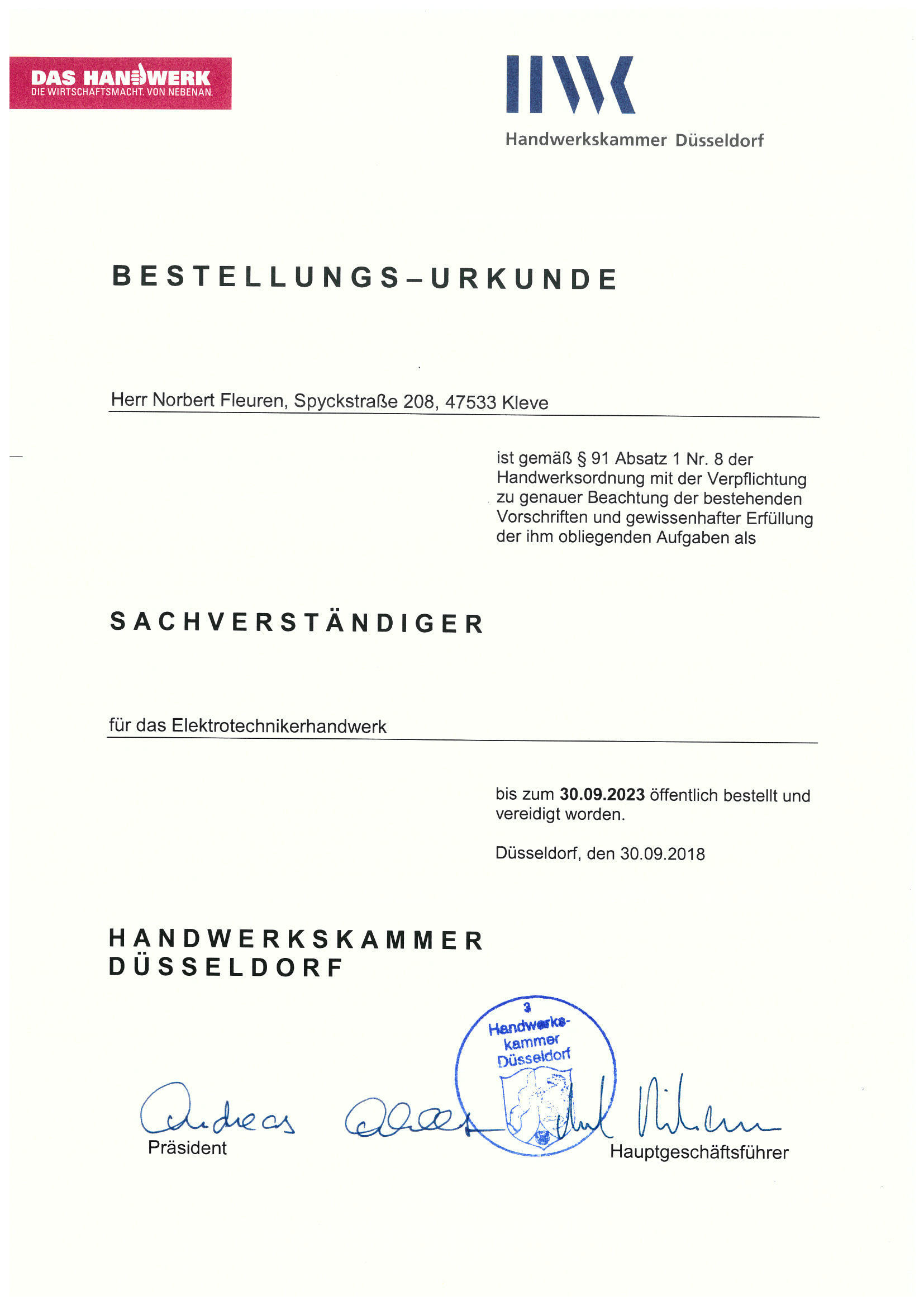 180919-Sachverständigenbestellurkunde-Fleuren-Norbert-Kleve.jpg